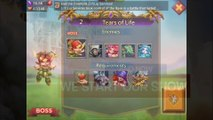 Lords Mobile - all heroes survived - Bloodlust - Stage 2 - Tears of Life