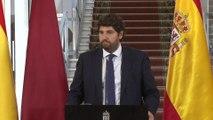 Murcia reafirma su compromiso con la unidad de España