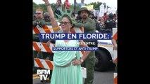 À Orlando, en Floride, pro et anti-Trump s'affrontent