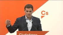 Rivera pide la dimisión del alcalde de Torroella tras la agresión al portavoz de Ciudadanos de Blanes