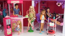Barbie Sisters Weekend Routine - Barbie Shopping Mall - Nail Salon