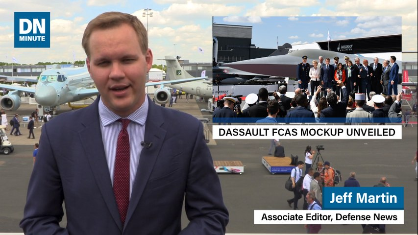 Future fighters unveiled at Paris Air Show Day 1 | Defense News Minute, June 17, 2019 | Godialy.com