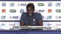 """Asseyi: """"France-Brésil ? Ca nous rappelle 98"""""""