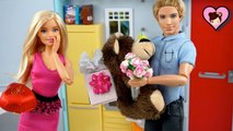 Barbie - Ken Valentines Day Special with Barbie Sisters Toy Video