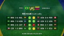 Previa partido entre Brasil y Venezuela Jornada 2 Copa América