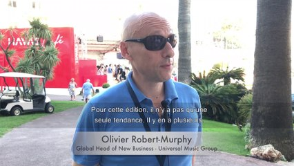 CANNES LIONS 2019 - Interview (FR) d'Olivier Robert-Murphy, Head of New Business Universal Music