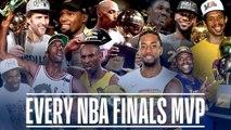 Every NBA Finals MVP in League History - Michael Jordan, Kawhi Leonard, LeBron James and More-