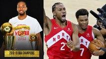 Klay Torn ACL, Raptors Stop 3Peat, 1st Championship- 2019 NBA Finals