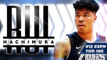 Rui Hachimura is a physical specimen with a shredded frame - 2019 NBA Draft Scouting Report