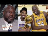 'Me and Kobe had tension all the time, but we respected each other'- Shaq on Harden-CP3 - First Take