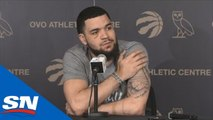 Raptors' Fred VanVleet Season-Ending Press Conference