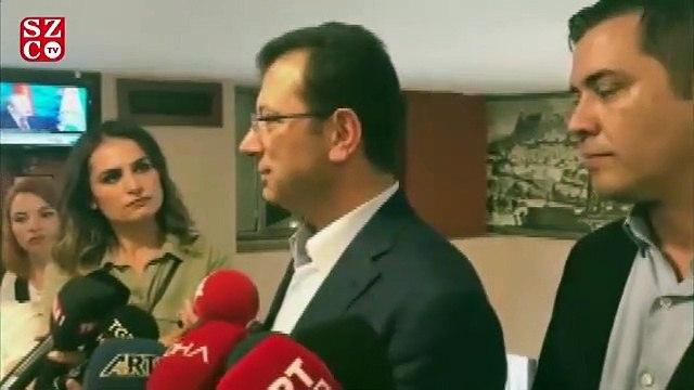 İmamoğlun'dan Erdoğan'a Sisi yanıtı