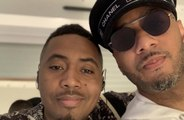 Nas performed to A-listers at Spotify Beach at Cannes Lions festival