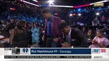 Rui Hachimura -  9th Pick -2019 NBA Draft - Washington Wizards