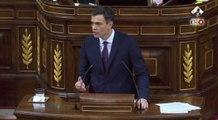 """Sánchez quiere acordar """"unión y convivencia"""" con Cataluña"""
