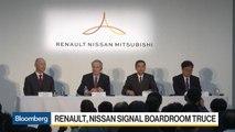 Renault, Nissan Signal Boardroom Truce
