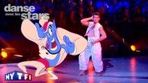 Un Quickstep pour Vincent Niclo et Katrina Patchett sur « Je suis ton meilleur ami » (Aladdin)