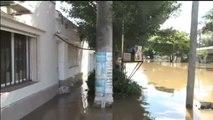Más de 3.000 personas lo pierden todo por las graves inundaciones en Argentina