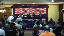 Egypt and Zimbabwe talk ahead of AFCON Group A opener