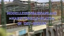 Der Sozialismus lebt! Berlin Bahnhof Marx Engels Platz als DDR Modellbahn auf der Intermodellbau - Ein Video von Pennula über Miniaturzüge, Spielzeug-Eisenbahnen und Modellbau