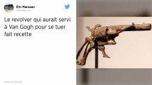 Le revolver qui aurait servi à Van Gogh pour se tuer vendu 162500€