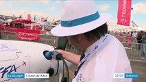 Salon du Bourget : l'avion du futur sera électrique et écologique