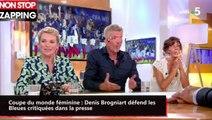 Coupe du monde féminine : Denis Brogniart défend les Bleues critiquées dans la presse