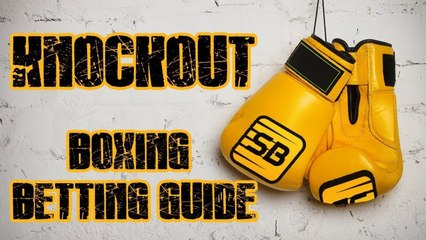 Can Sterling earn you some pounds? KO Boxing Betting Guide