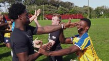 Michigan Wolverines learn rugby secrets from the Springboks