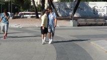 Pelayo y Andy presumen de su amor por Madrid