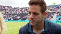 """ATP - Queen's 2019 - Juan Martin Del Potro """"started very well on the grass !"""""""