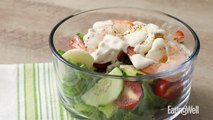 How to Make Shrimp Cobb Salad