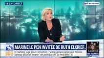 """Marine Le Pen à propos des municipales: """"Je ne suis pas à la recherche de têtes d'affiches mais d'une majorité"""""""