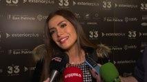 Miriam Saavedra evita hablar de su ex Carlos Lozano en '33 El Musical'