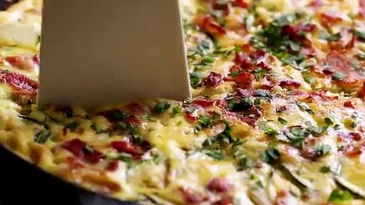 30-Minute Zucchini And Corn Frittata