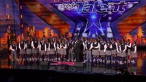 Golden Buzzer! Detroit Youth Choir Can't Hold Back The Tears - America's Got Talent 2019