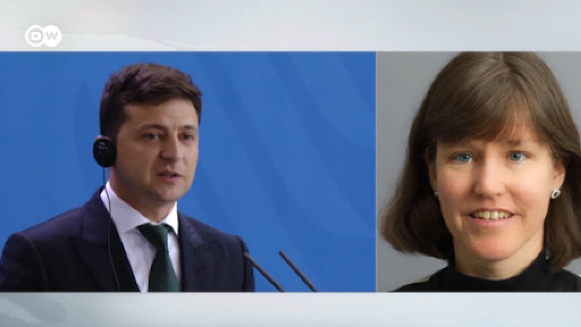 Немецкие эксперты о визите Зеленского в Берлин (19.06.2019)