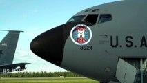 KC-135, F-16 • Air Refueling Mission - Eielson AFB, Alaska 2019