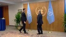 Sánchez se reune con el presidente de Naciones Unidas en su viaje a Nueva York