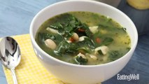 How to Make Chicken & Spinach Soup with Pesto