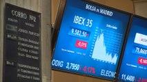 El Ibex gana un 2,4%, su tercera mayor subida semanal de 2018-. Firma: TARO .-