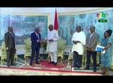 RTB - Le Président de la république reçoit en audience Le Gal Salou Djibo, Président de la Task Force