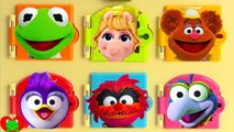 Best Learn Colors with Muppets Piggy and Kermit Disney Jr