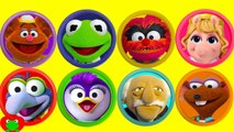 Muppets Play Doh Surprises Learn Colors