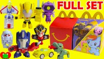 2018 Transformers McDonald's Happy Meal Toys Full Set