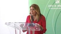 Susana Díaz inaugura el curso escolar con más profesores desde la crisis