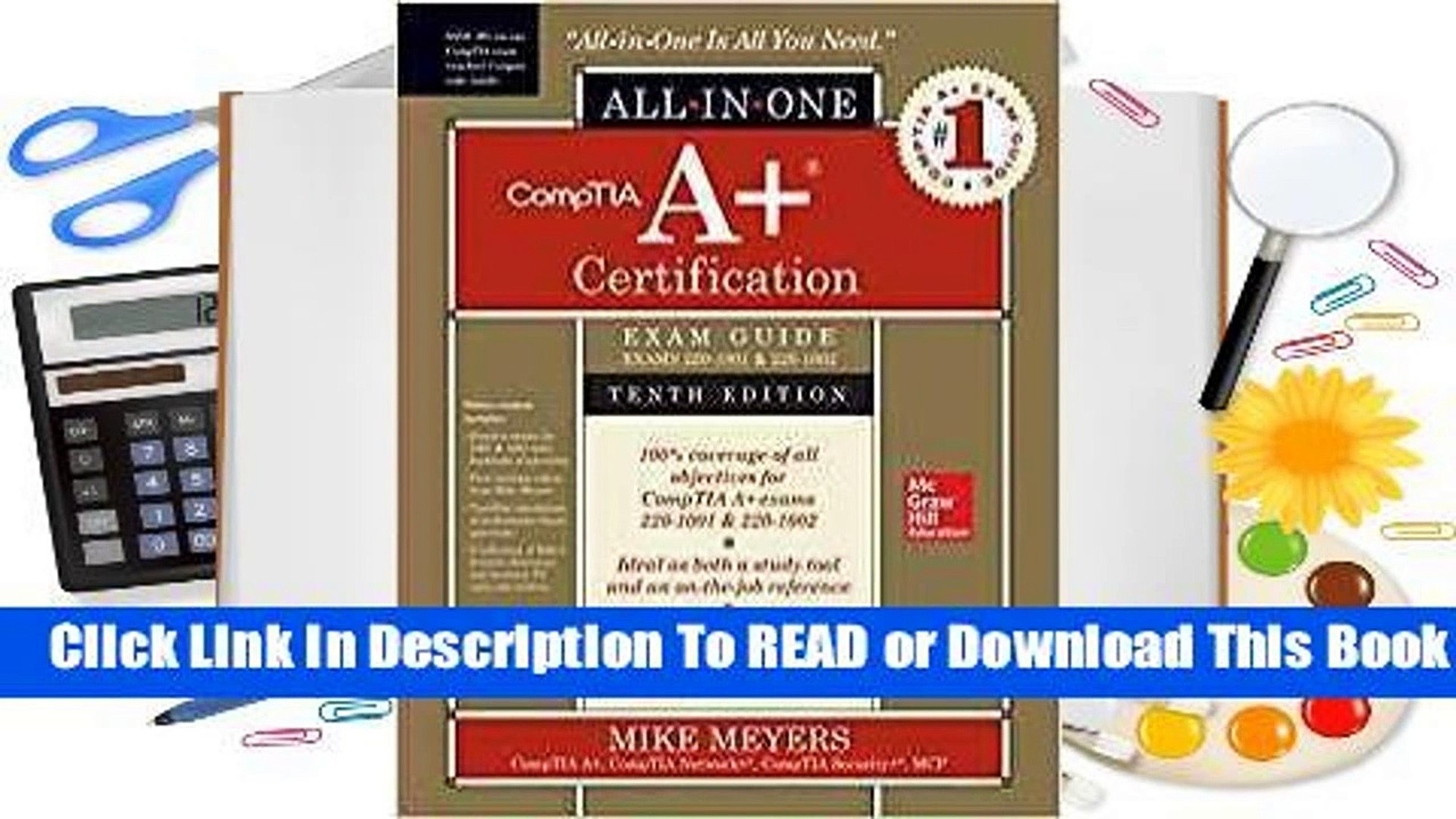 Online Comptia A+ Certification All-In-One Exam Guide, Tenth Edition (Exams 220-1001 & 220-1002)