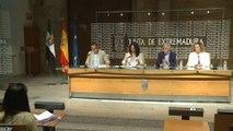 Junta presenta novedades del curso escolar en Extremadura