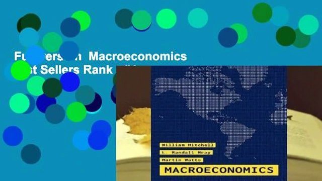 Full version  Macroeconomics  Best Sellers Rank : #4