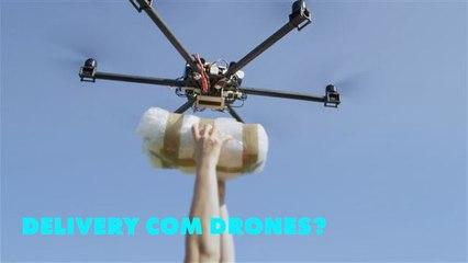 Uber está usando drones para fazer delivery